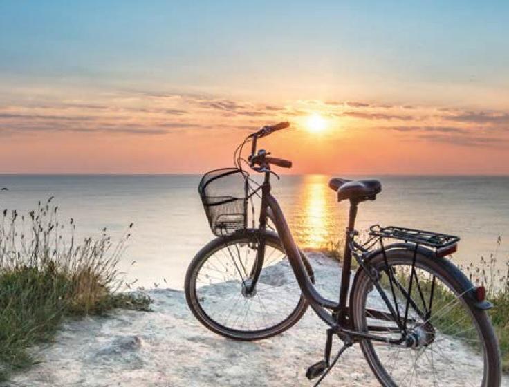FahrradSonnenuntergang